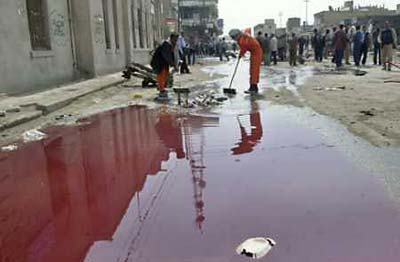 bloody day in iraq
