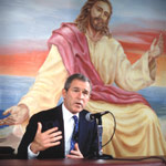 bush and jesus