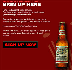 budweiser email