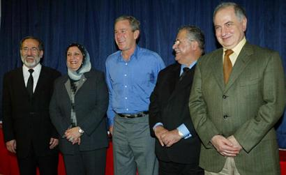 bush and chalabi